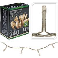 LED lyskæder udendørs - Varm hvid, 240 lys, 21 m