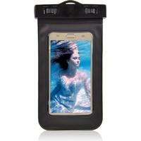 Universal Vandtæt Mobilpose i Sort - 20,5 x 11,5 x 1,5 cm