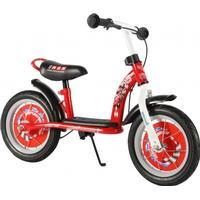 "E & L Disney Cars - Løbecykel - Rød/hvid - 12"""