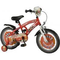 "E og L Cycles Børnecykel Disney Cars 16"" Rød"