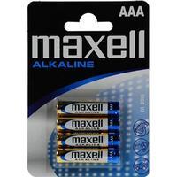 Maxell AAA Alkaline Blister 4-pack