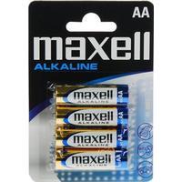 Maxell AA Alkaline Blister 4-pack