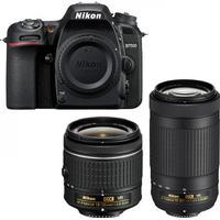 Nikon D7500 + AF-P 18-55mm VR + AF-P 70-300mm VR