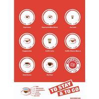 Risteriets kaffebeskrivelser (70x100)