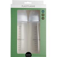Mininor Plastic Bottle 320ml 6m+ 2-pack