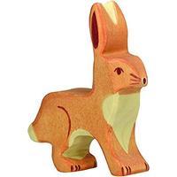 Holztiger Hare Upright Ears 80097