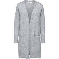 073480cbb3c4 Selected Mohair Mix Strikket Cardigan Grey/Light Grey Melange