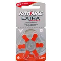 Rayovac 13/A13 6-pack