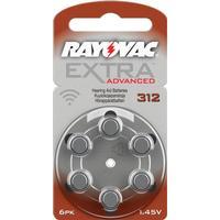 Rayovac 312/A312 6-pack