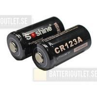 Soshine CR123A 3V