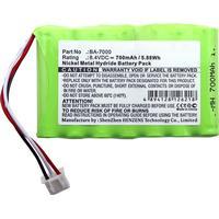 Batteri BA-7000 til Brother P-Touch (Kompatibelt)