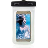 Universal Vandtæt Mobilpose i Hvid - 20,5 x 11,5 x 1,5 cm