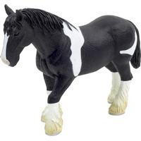 Mojo Clydesdale Horse Black & White 387085