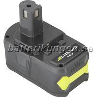 Batterikungen Batteri till Ryobi One+ - 5.000 mAh