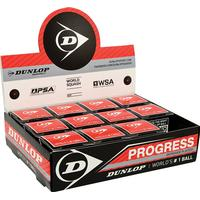 Dunlop Progress Red Dot - Pack of 12