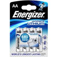 ENERGIZER ULTIMATE LITHIUM BATTERIER AA L91 4PK