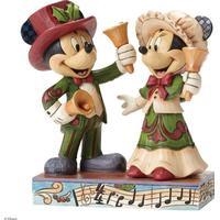 Mickey og Minnie Mouse Figur - Ringer Julen Ind