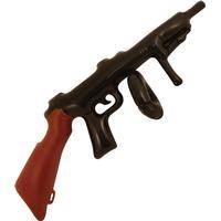 Uppblåsbar Tommy Gun 80 cm, Klassiskt Maffia-vapen från 20-30 talet.