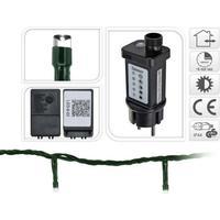 LED lyskæder udendørs - hvid, 240 lys, 21 m & timer