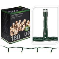 LED lyskæder udendørs - Varm hvid, 180 lys - 16,5 m