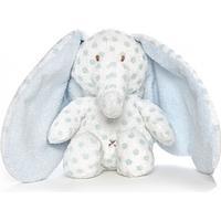 Teddy Baby Big Ears Elefant - Lyseblå (navn)