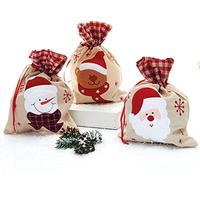 Julepose med navn - Snemand