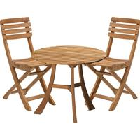 Skagerak Vendia 1 Table incl 2-Chairs Cafégrupp