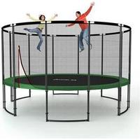 Ampel 24 Deluxe Trampoline + Safety Net 430cm