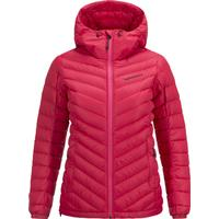 Peak Performance W Frost Down Hooded Jacket Pink Planet (G58685041)