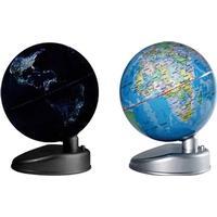 Globus med lys og stativ