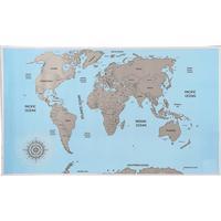 Scratch map / karta