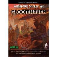 Cephalofair Games Gloomhaven - Removable Sticker Set
