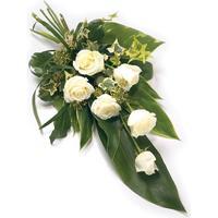 Begravning & kondoleanser Lång bukett