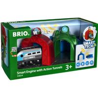 Brio Smart lok med Action Tunnlar 33834