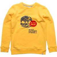 Lego Wear Saxton 725 Sweatshirt Ninjago - Dark Yellow