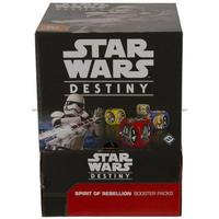 Fantasy Flight Games Star Wars Destiny Spirit of Rebellion Booster Pack (Engelska)