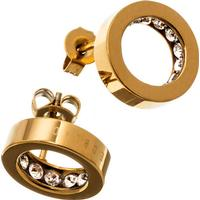 Edblad Monaco Gold Plated Stainless Steel Studs Earrings (41530035)