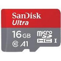 SanDisk Ultra MicroSDHC Class 10 UHS-l A1 98MB/s 16GB