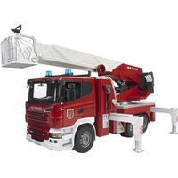 Bruder Scania brandbil med stige