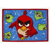 Associated Weaver Angry Birds, Matta, Feathered & furious, 95 x 133 cm One Size