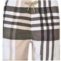 MONCLER GAMME BLEU Checked Swim Shorts