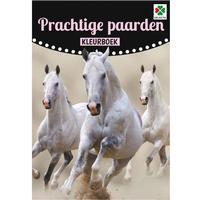Selecta, malebog med heste