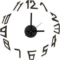 Velleman Gør-det-selv væg-ur m. selvklæbende stickers - MODERN
