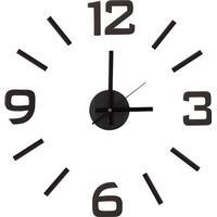 Gør-det-selv væg-ur m. selvklæbende stickers - CLASSIC