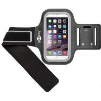 Sport armhylster til iPhone 6 / Galaxy S5 - HQ, Sort