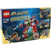 LEGO Atlantis - Superpack 4-i-1