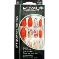 Royal Cosmetics Glue On Nail Tips 24-pack