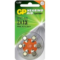 GP Batteries ZA13 6-pack