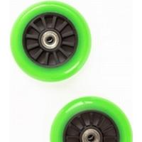 Europlay To hjul til Trick Løbehjul - Sort/Grøn