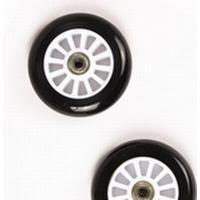 To hjul til Trick Løbehjul - Hvid/Sort